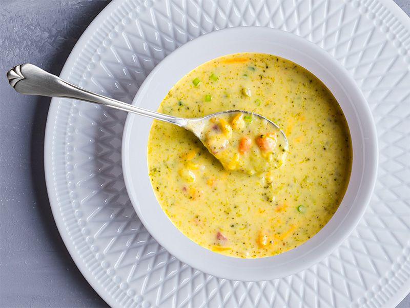 Potato-Broccoli Soup