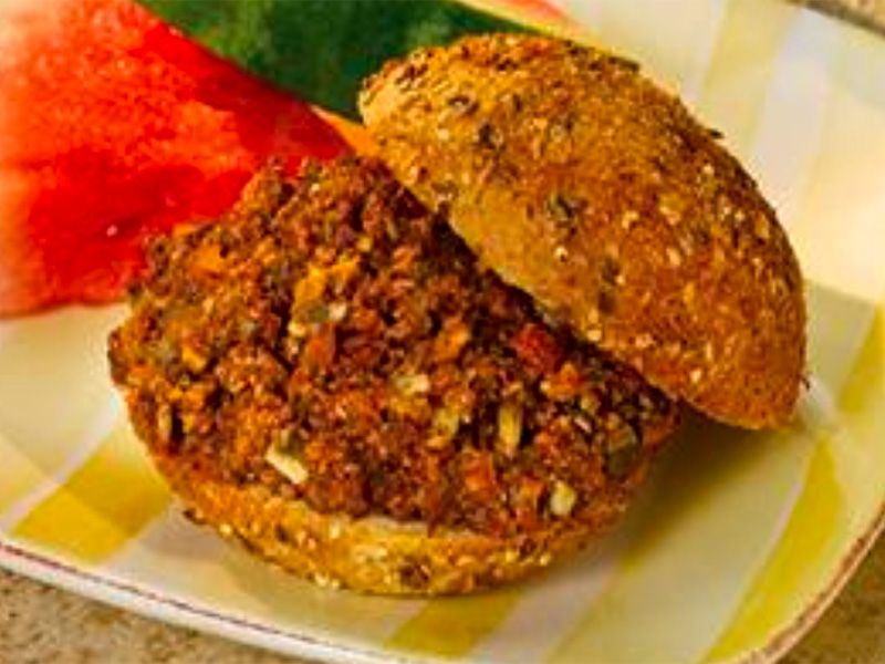 Mushroom Beef Sloppy Joes