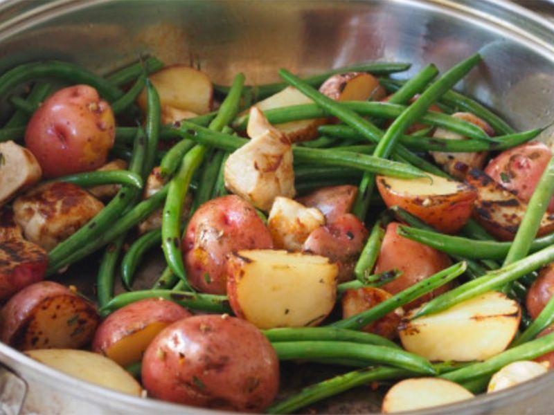 Tuscan Potato Skillet