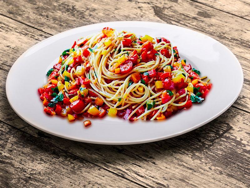 Mixed Pepper Pasta
